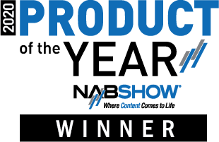 NAB 2020 PRODUCT OF THE YEAR AWARD